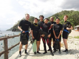Divers from Switzerland, Turkey, PH